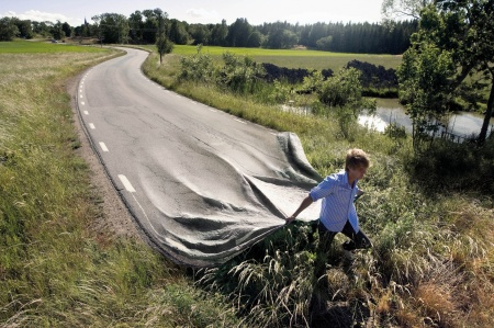 Go Your Own Road by Erik Johansson.